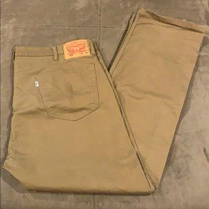 Men's Levi's 505 Jeans Straight Stretch 40x32 40